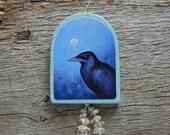 Crow - Handmade Ornament/Hanger