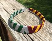 Custom listing: Gryffindor and Slytherin headband