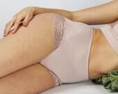 high waisted panties - GEM bamboo lingerie range - made to order