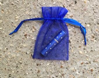 Travel Perfume Sprayer - More Life Collection - Fragrance Travel Sprayer - Atomizer - Royal blue sprayer, refillable sprayer, floral, chypre