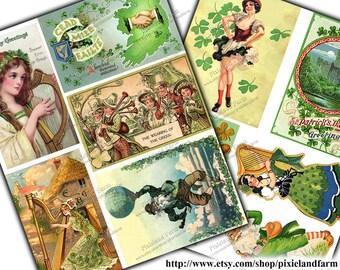 St. Patrick's Day Vintage Printable Digital Download