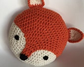 Crochet Fox Pillow