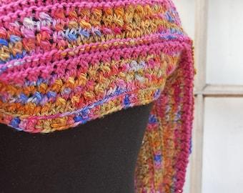 Pink flecked wollen bolero ready to ship