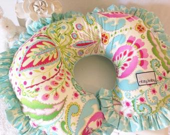 Kumari Garden Teja Pink Nursing Pillow Cover, Nursing Pillow Cover, Beautiful Nursing Pillow Covers