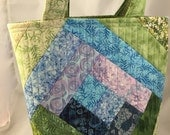 Quilted Upright Tote