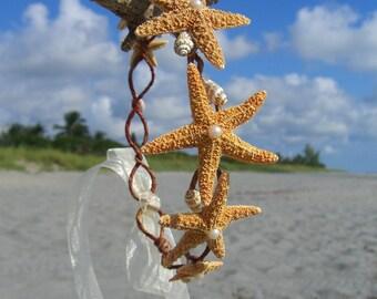 Beach Wedding Crown,Starfish Bridal Crown,Wedding Crown,Hair Crowns,Nautical Wedding,Mermaid Headpiece,Mermaid Crown,Starfish Hair