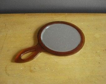 Fairest of Them All - Vintage Hand Mirror - Handheld Mirror