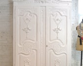 Painted Cottage Chic Shabby French Romantic Armoire/ Wardrobe AM188