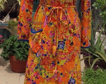 """Vintage 1960's Lilly Pulitzer """"The Lilly"""" Maxi Dress"""