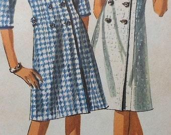 Vintage Dress Sewing Pattern UNCUT Simplicity 5917 Size 12