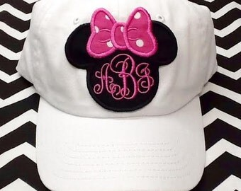 Minnie Mouse Hat Youth Personalized
