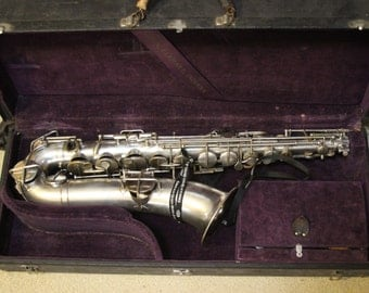 Antique KOHLER & CHASE American Professional Tenor Saxophone with Original Case
