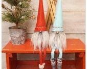 Scandinavian gnome, Nordic gnome, nordic nisse, swedish tomten, swedish santa, tonttu, scandinavian decor, gifts for the home