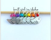 Little Birdy - Rainbow - Bright - Bird Stitch Markers (Set of 7)
