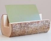 Maple Branch Business Card Holder