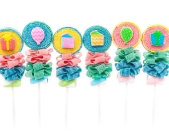 Birthday Candy Kabobs - 6