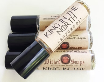 King in the North Perfume Oil - Roll On Perfume Oil, Roller Perfume Oil