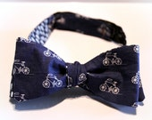 Mens Double Sided Freestyle Bow Tie