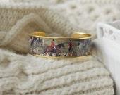 Women's Equestrian Cuff Bracelet - Love of the Hunt