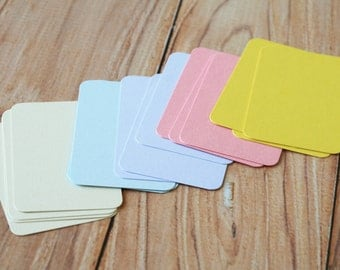 200pc PASTEL Colours Eco Series Business Card Blanks