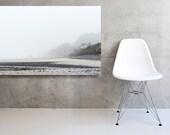 Large Scale Canvas Minimal Seascape Coast Wall Decor