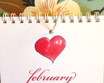 February love on your friends sale! Perpetual calendar- CELEBRATE birthdays and other special dates year after year
