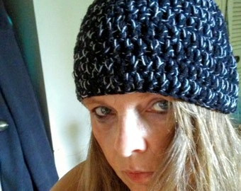 hand crochet hat,  beanie, warm, winter