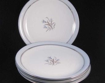 Noritake Bluebell Salad Plates(4) #5558