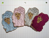 1980s Bootleg Barbie embroidered patch