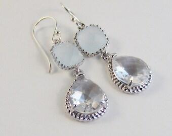 Moon Cloud,Blue Moon,Moonstone Earrings,Moonstone Jewelry,Moon Earings,Moon Jewerlry,Floral Earrings,Blue Earrings,Jewelry,valleygirldes