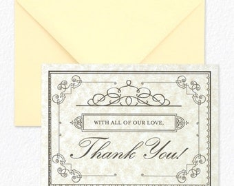 Daily Proposal Vintage Thank You Cards
