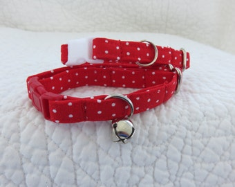 Christmas Cat Collar  Breakaway Collar Custom Made