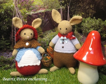 Enchanting storybook bunnies....