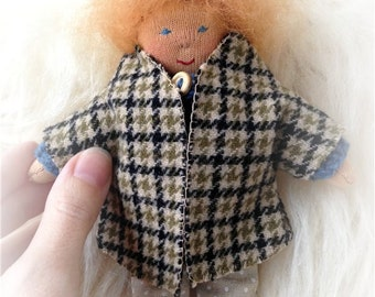 Waldorf doll. Waldorf toy.  6 inch boy.