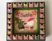 Personalized Advent Calendar - Green