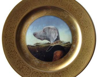 "Grand Duchess of Saxe-Weimar-Eisenach - Altered Antique Plate 10.5"""