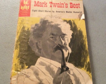 Mark Twain's Best,Short Stories,Samuel Clemens,Humorist,Mark Twain Book,Mark Twain Stories,Storytelling,Americana,Some Learned Fables