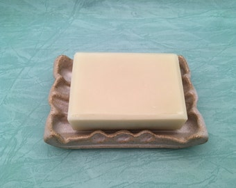 Homemade All Natural Unscented Cold Process Fragrance Free Soap Made With Organic Oils | Soap from Scratch | Artisan Soap | Bar Soap