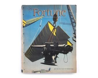 """Herbert Bayer """"Fortune"""" magazine cover design. February 1943."""