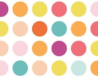 Art Gallery Fabric's Boardwalk, Candy Dots 1 yard
