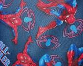 Spiderman Quilted Fabric Portfolio Custom Made