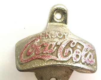 Vintage Wall mount Coca Cola Bottle Opener