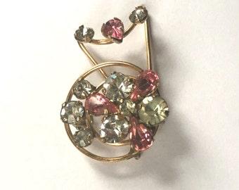 Beautiful Goldfill Brooch or Pendant