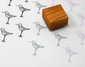 Little Sandpiper Olive Wood Stamp