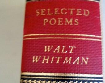 VINTAGE WALT WHITMAN 1942  Poems     Vintage poetry