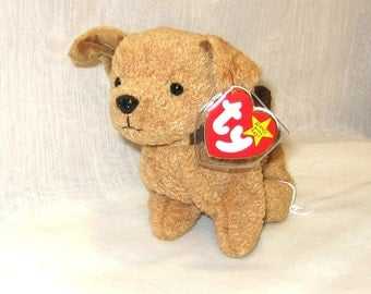 TY Beanie Baby Tuffy the Terrier -114