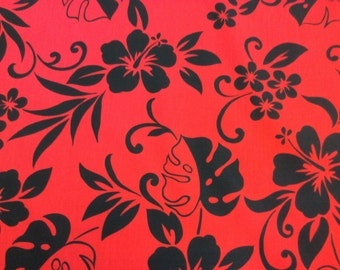 Tropical Hawaiian Print  (Yardage Available)