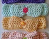 Kids and babies headbands, pastel color headbands, kids earwarmers, ready to ship