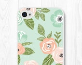 iPhone 6s Case Floral iPhone 6 Case Floral iPhone 6 Plus Case Floral Phone Case Gift for Boss Gift for Coworker Teen Gift iPhone 5s Case