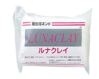 Luna Clay Resin Clay 250g for Flower from Japan